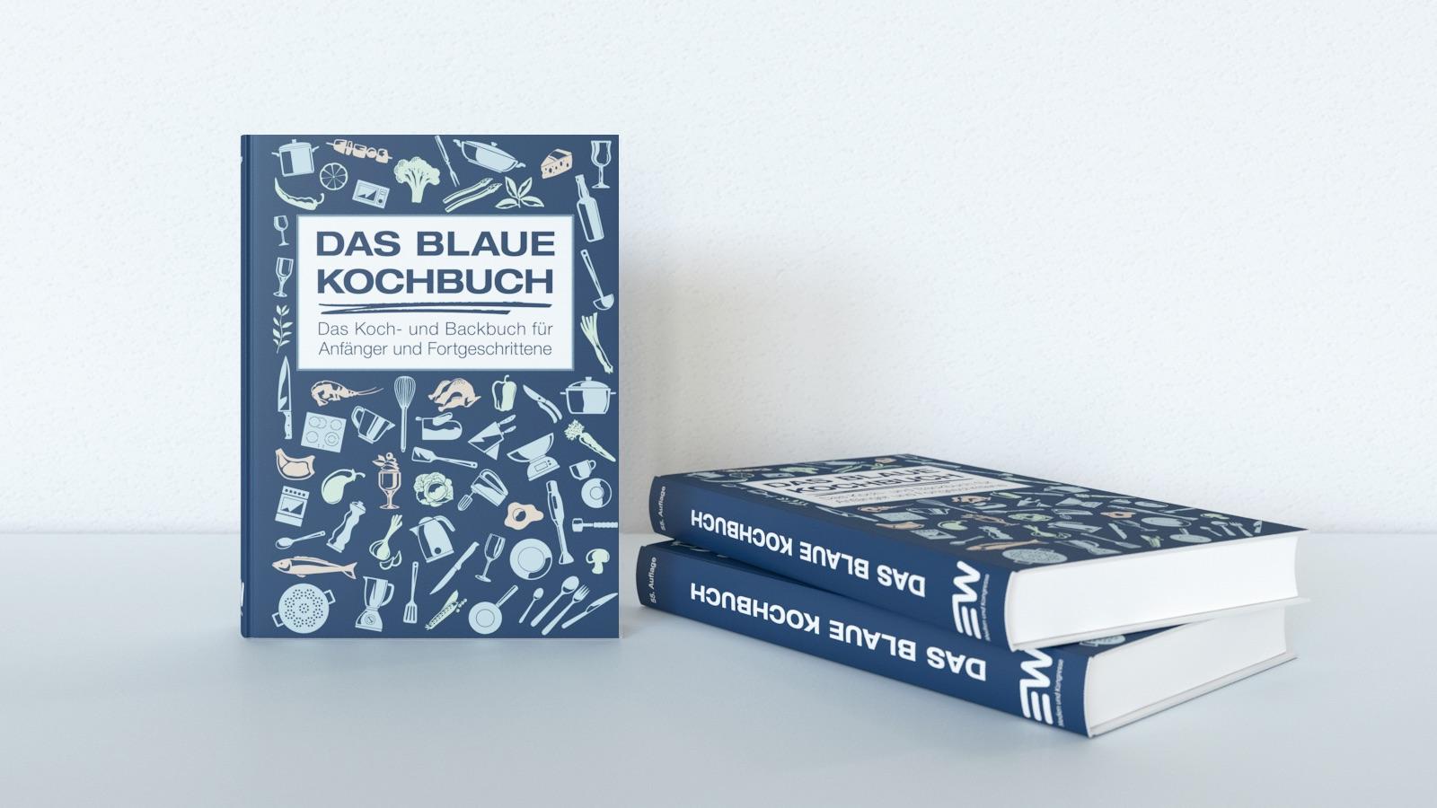 das blaue kochbuch das grundkochbuch f r anf nger und fortgeschrittene. Black Bedroom Furniture Sets. Home Design Ideas